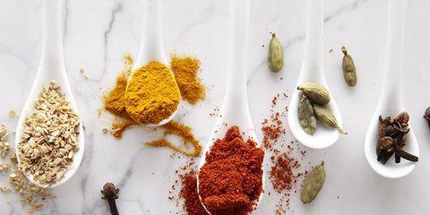 Ingredient, Spice, Spice mix, Seasoning, Masala, Garam masala, Powder, Berbere, Baharat, Curry powder,