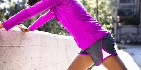 Human leg, Magenta, Purple, Pink, Sportswear, Elbow, Wrist, Knee, Violet, Thigh,