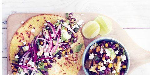 Food, Cuisine, Lemon, Korean taco, Produce, Ingredient, Tableware, Meal, Plate, Recipe,