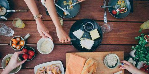 Cuisine, Dishware, Tableware, Table, Meal, Dish, Food, Kitchen utensil, Plate, Cutlery,