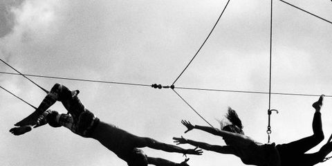 Sky, People, Rope, Style, Line, Monochrome photography, People in nature, Adventure, Monochrome, Black-and-white,