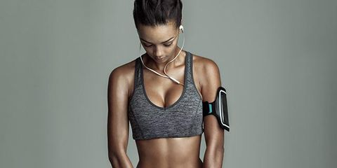 Human body, Shoulder, Denim, Joint, Waist, Chest, Brassiere, Jeans, Abdomen, Elbow,