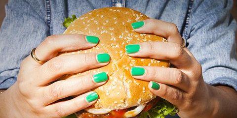 Finger, Food, Sandwich, Cuisine, Ingredient, Dish, Meal, Finger food, Hamburger, Dishware,