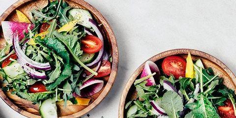 Food, Garden salad, Dish, Cuisine, Ingredient, Vegetable, Salad, Superfood, Leaf vegetable, Produce,