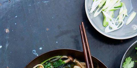 Food, Ingredient, Soup, Dishware, Cuisine, Produce, Noodle, Chinese noodles, Noodle soup, Dish,