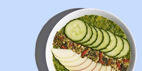 Food, Vegetable, Vegan nutrition, Produce, Cucumber, Plate, Dishware, Whole food, Cuisine, Ingredient,