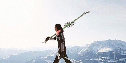 Recreation, Slope, Winter sport, Outdoor recreation, Mountain range, Ski, Snow, Glacial landform, Winter, Ski Equipment,