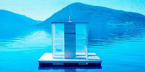 Body of water, Blue, Water resources, Fluid, Coastal and oceanic landforms, Mountain range, Aqua, Liquid, Ocean, Reflection,