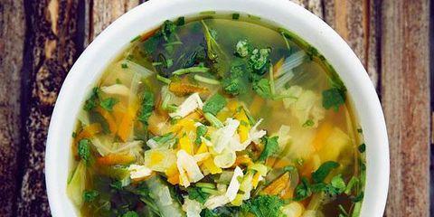 Food, Soup, Recipe, Stock, Ingredient, Dish, Asian soups, Bouillon, Produce, Cock-a-leekie soup,
