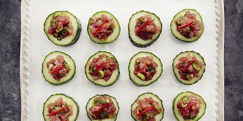 Food, Dish, Cuisine, Ingredient, Finger food, Produce, Recipe, Hors d'oeuvre, Canapé, Vegetarian food,