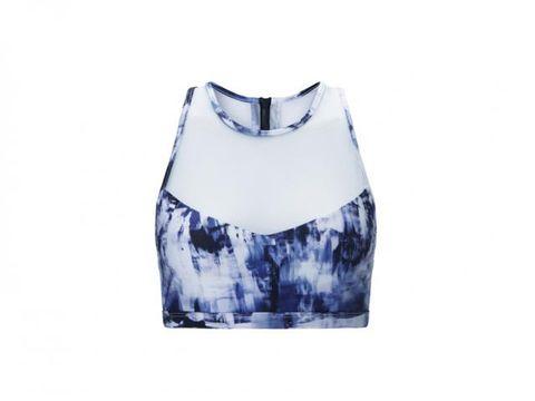 Pattern, Cobalt blue, Aqua, Electric blue, Porcelain, Natural material, Pattern, Day dress,