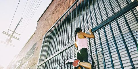 Human leg, Knee, Photography, Street stunts, Wire, Electrical supply, Hip, Electrical network, Outdoor shoe, Freestyle walking,