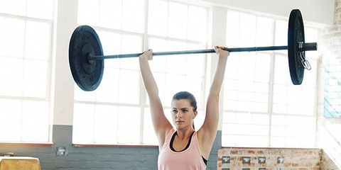 Arm, Weightlifter, Human body, Human leg, Physical fitness, Chin, Exercise equipment, Shoulder, Chest, Weights,