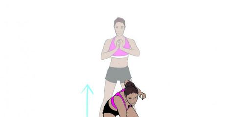 Shoulder, Joint, Pink, Magenta, Knee, Animation, Waist, Thigh, Muscle, Stomach,