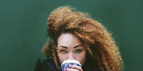 Finger, Hairstyle, Hand, Nail, Eyelash, Fashion, Jacket, Cool, Street fashion, Photography,