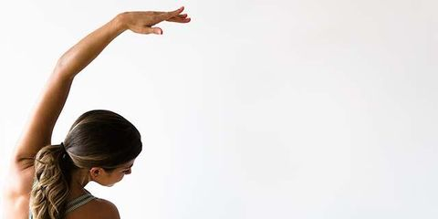 Arm, Finger, Shoulder, Elbow, Wrist, Hand, Joint, Sitting, Long hair, Waist,
