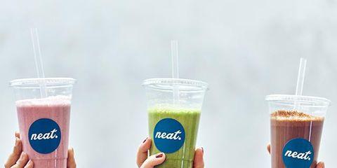 Drink, Product, Juice, Hand, Food, Milkshake, Health shake, Non-alcoholic beverage, Smoothie,