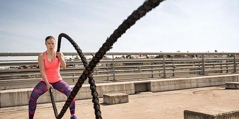 People in nature, Rope, Physical fitness, Balance, Hose,