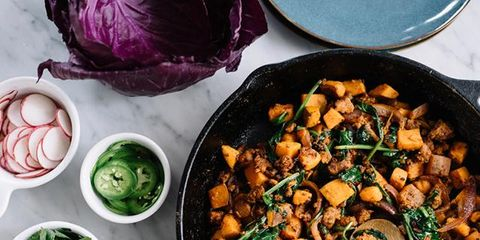 Dish, Food, Cuisine, Ingredient, Chickpea, Vegetable, Produce, Butternut squash, Vegetarian food, Recipe,