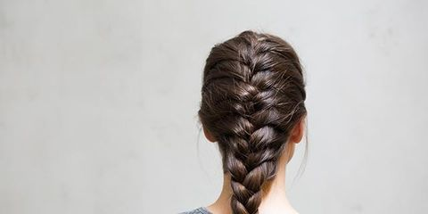 The Best Gym Hairstyles: How To Do A Full French Plait