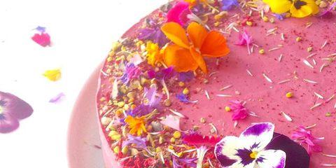 Petal, Dishware, Flower, Serveware, Purple, Pink, Plate, Cut flowers, Violet, Magenta,