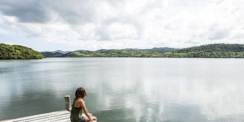 Human, Wood, Water, People in nature, Bank, Dock, Lake, Reservoir, Deck, Boardwalk,