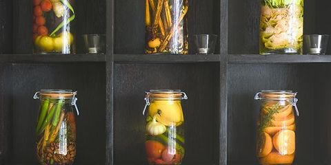 Yellow, Mason jar, Food storage containers, Still life photography, Preserved food, Cylinder, Canning, Lid, Still life,