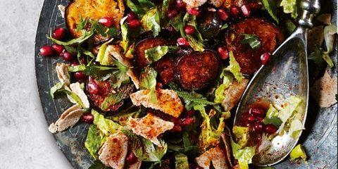 Dish, Food, Cuisine, Vegetable, Ingredient, Salad, Leaf vegetable, Cruciferous vegetables, Produce, Fattoush,
