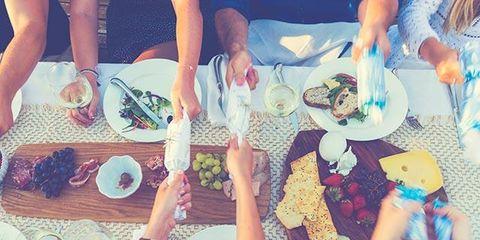 Hand, Tableware, Plate, Food, Table, Dishware, Drink, Cuisine, Nail, Dish,