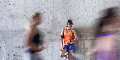 Human leg, Endurance sports, Recreation, Running, Sleeveless shirt, Athletic shoe, Active shorts, Shorts, Racing, Long-distance running,