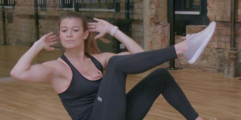 Human leg, Shoulder, Elbow, Hand, Joint, Sportswear, Active pants, Flooring, Wrist, Exercise,