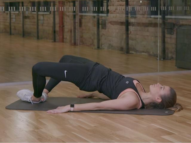 5 Minute Fitness Challenge: Glute Activation