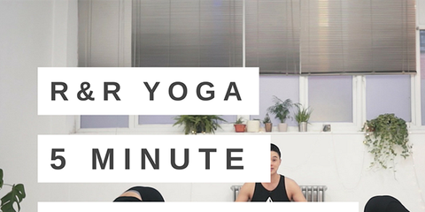 yoga for shoulder pain video  5 minute rest  recovery flow