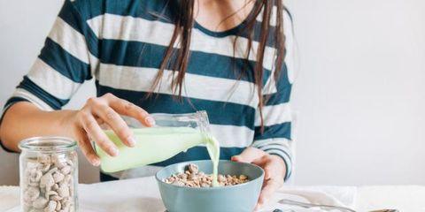Food, Meal, Breakfast cereal, Breakfast, Vegetarian food, Cuisine, Dish, Ingredient, Tableware, Snack,