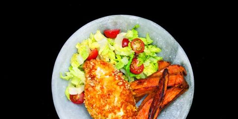 Food, Cuisine, Tableware, Dish, Meat, Plate, Recipe, Fried food, Dishware, Garnish,