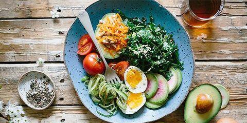 Dish, Food, Meal, Cuisine, Ingredient, Salad, Vegetarian food, Breakfast, Vegetable, Brunch,