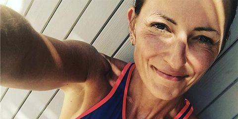 Shoulder, Muscle, Arm, Selfie, Chin, Joint, Chest, Bodybuilding, Neck, Smile,