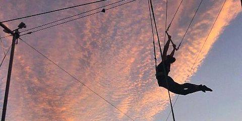 trapeze fitness holiday