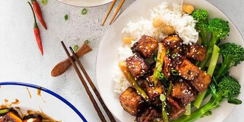 Dish, Cuisine, Food, Ingredient, Sesame chicken, Meat, General tso's chicken, Produce, Mongolian beef, Recipe,
