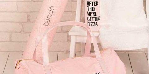Bag, Handbag, Shoulder, Pink, Fashion accessory, Shoulder bag, Joint, Font, Luggage and bags, Tote bag,