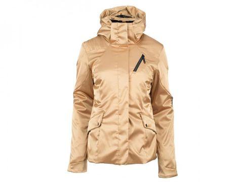 Sleeve, Personal protective equipment, Jacket, Mask, Khaki, Costume, Zipper, Safety glove, Pocket, Costume design,