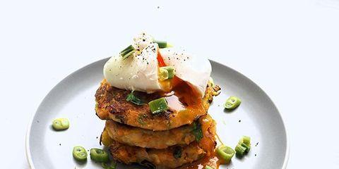 Dish, Food, Cuisine, Ingredient, Fritter, Fried food, Potato cake, Potato pancake, Produce, Vegetarian food,
