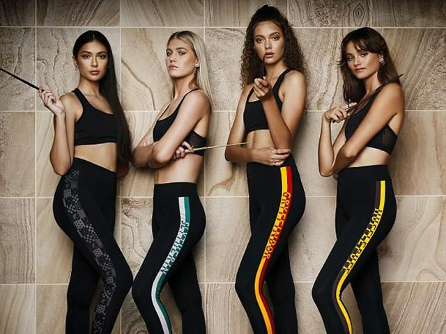 58ded36441917 Harry Potter Activewear Exists & It's Actually The Millennial's Dream.  Hogwarts themed leggings ...