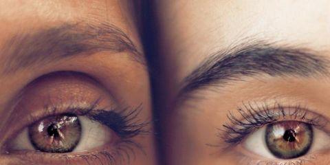 Eyebrow, Face, Eye, Eyelash, Skin, Iris, Close-up, Organ, Forehead, Nose,