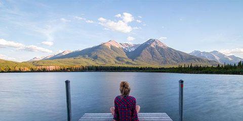 Lake, Water, Sky, Lake district, Mountain, Wilderness, Pier, Reflection, Dock, Loch,