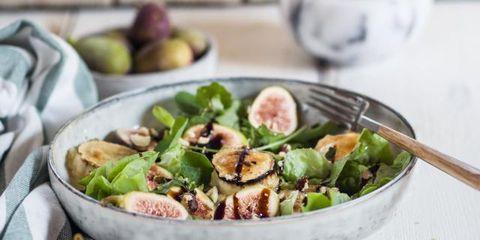 Dish, Food, Cuisine, Brussels sprout, Ingredient, Cruciferous vegetables, Vegetable, Leaf vegetable, Salad, Caesar salad,