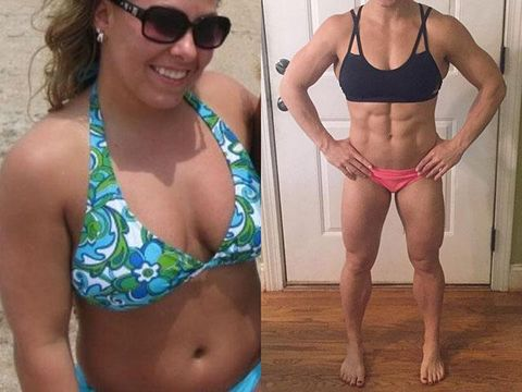 Body Transformation Stories 35 Inspiring Women Body composition goals to work on: body transformation stories 35