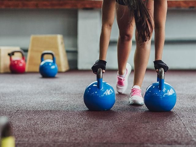 FullBody Kettlebell Workout