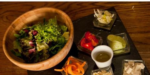 Cuisine, Food, Serveware, Meal, Leaf vegetable, Tableware, Table, Bowl, Dish, Ingredient,