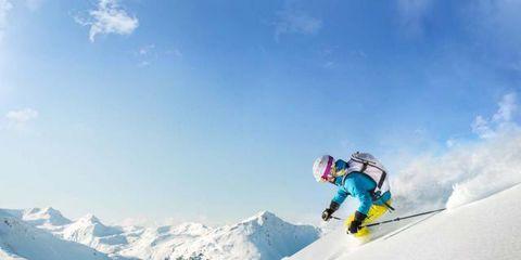 Winter, Slope, Recreation, Winter sport, Outdoor recreation, Goggles, Snow, Mountain, Adventure, Glacial landform,